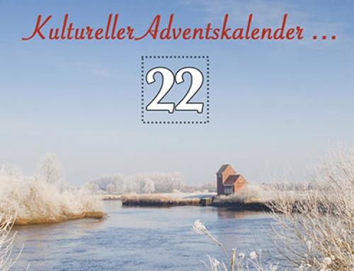 Türchen 22 des kulturellen Adventskalenders